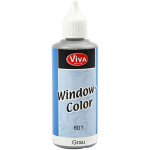 Viva Decor Window Color, grå, 80 ml