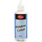 Viva Decor Window Color, guld glitter, 80 ml