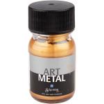 Art Metal maling, mellem guld, 30 ml