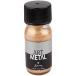 Art Metal maling, mørk guld, 30 ml