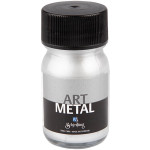Art Metal maling, sølv, 30 ml