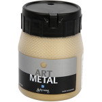 Art Metal maling, lys guld/messing, 250 ml