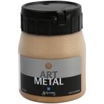 Art Metal maling, mellem guld, 250 ml