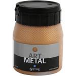 Art Metal maling, mørk guld, 250 ml