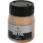 Art Metal maling, antik guld, 250 ml