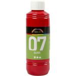 A-Color Glass, rød, 250 ml