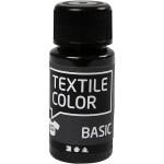 Textile Color, sort, 50 ml