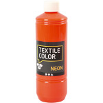 Textile Color, neon orange, 500 ml