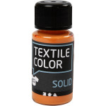 Textile Solid, orange, dækkende, 50 ml