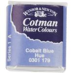 Cotman akvarelfarve, cobolt blue, 1 stk.