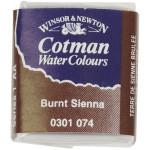 Cotman akvarelfarve, burnt sienna, 1 stk.