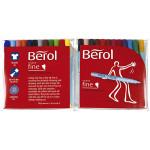 Berol Colourfine, 0,6 mm streg, 24 ass.