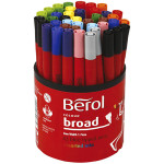 Berol Colourbroad, 1,7 mm streg, 42 ass.