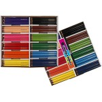 Colortime farveblyanter, 5 mm, ass. farver, jumbo, 144 ass.