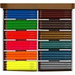 Colortime farveblyanter, 4 mm, neon+metallic, 144 ass.