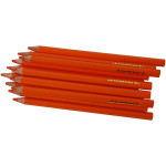 Colortime farveblyanter, 5 mm, orange, Jumbo, 12 stk.