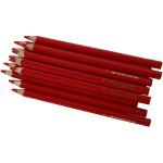 Colortime farveblyanter, 5 mm, rød, Jumbo, 12 stk.