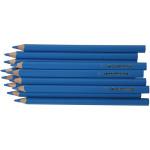 Colortime farveblyanter, 5 mm, blå, Jumbo, 12 stk.
