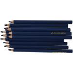 Colortime farveblyanter, 5 mm, mørk blå, Jumbo, 12 stk.