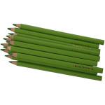 Colortime farveblyanter, 5 mm, lys grøn, Jumbo, 12 stk.