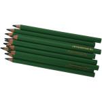 Colortime farveblyanter, 5 mm, grøn, Jumbo, 12 stk.