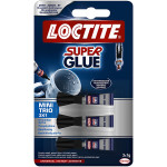 Loctite Super Glue, 3 stk.