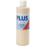 Plus Color hobbymaling, elfenben, 250 ml