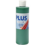 Plus Color hobbymaling, brilliant grøn, 250 ml