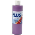 Plus Color hobbymaling, mørk lilla, 250 ml