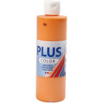 Plus Color hobbymaling, orange, 250 ml