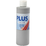 Plus Color hobbymaling, musegrå, 250 ml