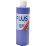 Plus Color hobbymaling, ultra marineblå, 250 ml
