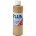 Plus Color hobbymaling, guld, 250 ml