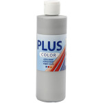 Plus Color hobbymaling, sølv 250 ml