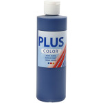 Plus Color hobbymaling, mørkeblå, 250 ml