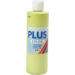 Plus Color hobbymaling, lime grøn, 250 ml