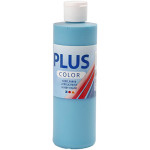 Plus Color hobbymaling, turkis blå, 250 ml