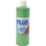 Plus Color hobbymaling, græsgrøn, 250 ml