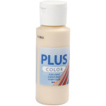 Plus Color hobbymaling, lys hudfarve, 60 ml