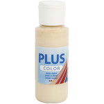 Plus Color hobbymaling, elfenben, 60 ml