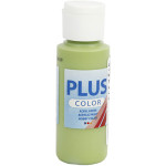 Plus Color hobbymaling, bladgøn, 60 ml
