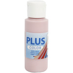 Plus Color hobbymaling, støvet rosa, 60 ml