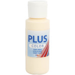 Plus Color hobbymaling, lys gullig, 60 ml