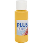 Plus Color hobbymaling, solgul, 60 ml