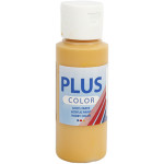 Plus Color hobbymaling, okkergul, 60 ml
