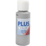 Plus Color hobbymaling, musegrå, 60 ml