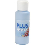 Plus Color hobbymaling, himmelblå, 60 ml