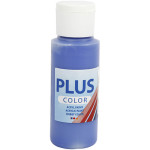 Plus Color hobbymaling, ultra marineblå, 60 ml