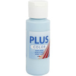 Plus Color hobbymaling, lys turkisblå, 60 ml