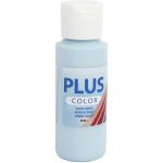 Plus Color hobbymaling, lys turkisblå, 60 ml